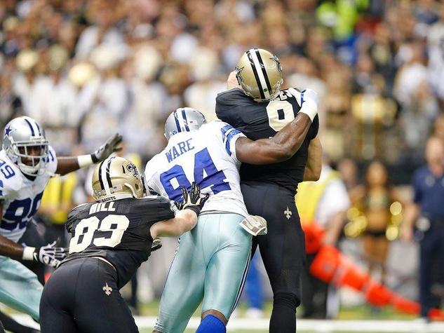 DeMarcus Ware of the Dallas Cowboys