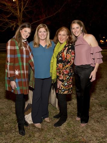 Houston, Memorial Park Conservancy Picnic for the Park, February 2018, Molly Jodeit, Jamie Ratliff, Cathy Jodiet, Jennifer Daly