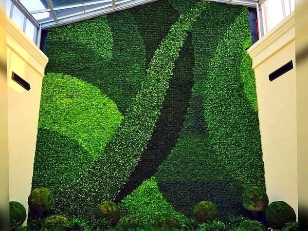 Houston, Gallery Furniture Grand Parkway Opening, June 2015, GFGP Living Wall