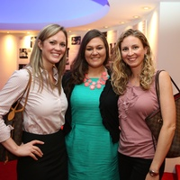 Alley Theatre Young Professionals event July 2013 Rachel Ballengee, Holly Ashe, Mary O'Black