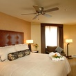 The Master bedroom at Elevation Hotel and Sla