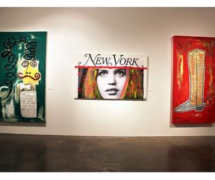 Harif Guzman Exhibition, February 2013, Trio