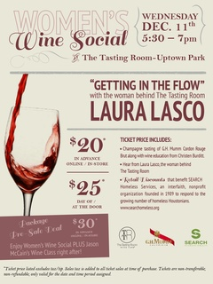 """Women's Wine Social featuring Laura Lasco """"Getting into the Flow"""""""