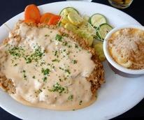 News_chicken_fried_steak_gravy_macaroni_cheese_vegetables