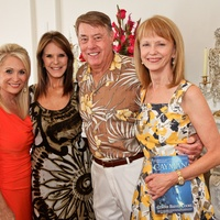 Virginia Resiman, from left, Connie Reeves Cooke, Clayton Cooke and Susan Krohn