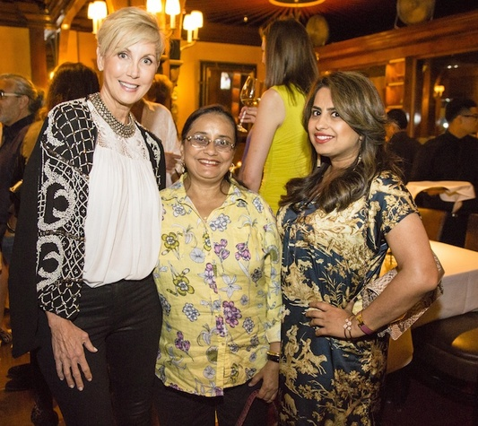 News, Shelby, Beth Muecek b'day, Oct. 2015,  Jerri Moore, Kaberi Mukerjee, Ruchi Mukerjee