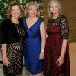Ginger Sager, DSOL President; Dixey Arterburn, Presentation Ball Chairman; Nancy Labadie, Event Chairman, deb event