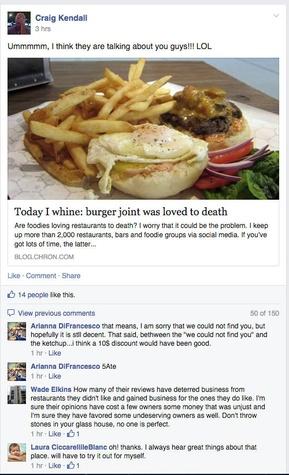 Syd Kearney burger drama screen shot
