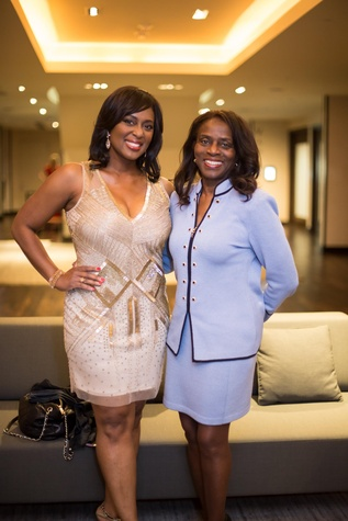 International Mother's Day Soiree May 2015 Sharron Melton and Clarease Yates