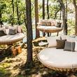 outdoor furniture Dedon Swingrest at Kuhl-Linscomb