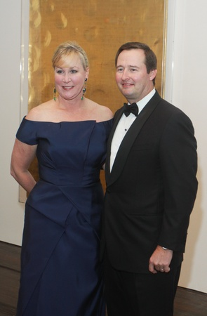 The Menil 25th anniversary gala, December 2012, Sara Dodd-Spickelmier, Keith Spickelmier