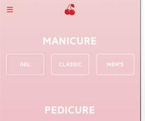 Cherry, in app