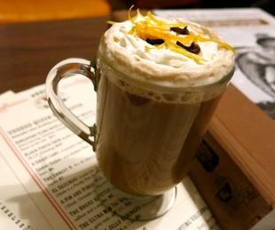 hot toddies hot toddy Grave Robber's 151 Coffee Grog at Voodoo Queen