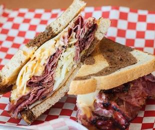 Capitol Sandwich reuben
