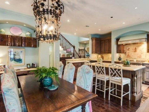 Houston, real estate, August 2017, George R. Brown's River Oaks Mansion, 3363 Inwood Dr, kitchen
