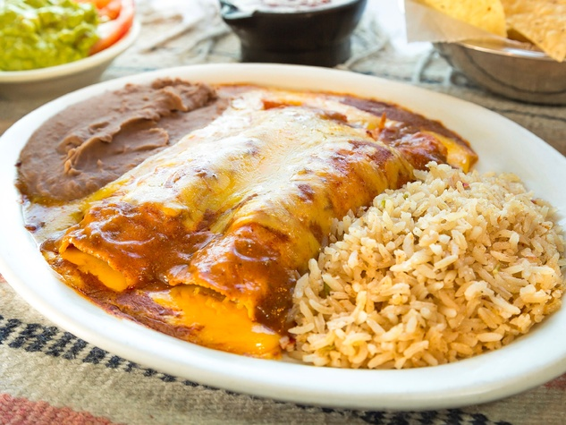 Lopez Mexican Restaurant enchiladas
