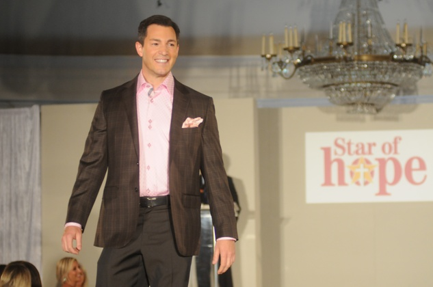 Andy Cerota at the Star of Hope Celebrity Fashion Show May 2014