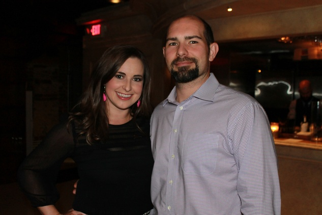 Ashley Brooks and Adam Krustchinsky at the Friends of St. Jude Spring Happy Hour March 2015