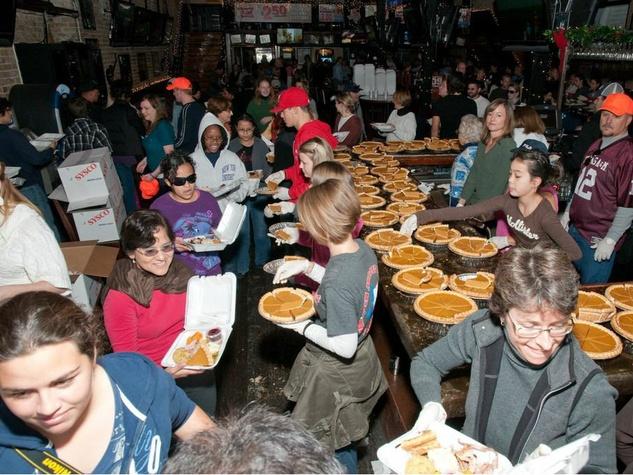 Operation Turkey Thanksgiving volunteers