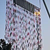 Wall of Bras KRBE Susan G Komen Breast Cancer