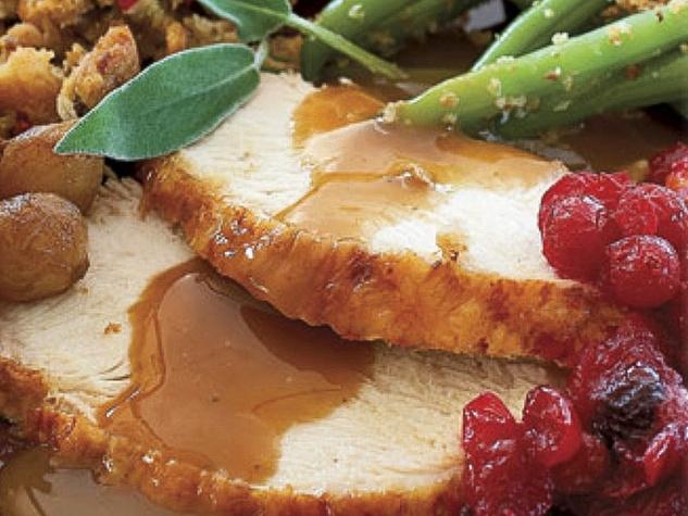 News_Thanksgiving meal_turkey_gravy_green beans