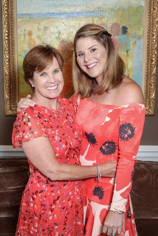 Mental Health Association luncheon, 9/16 Maureen Hackett, Jenna Bush Hager
