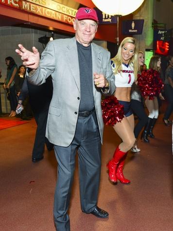 """24 Bob McNair and Morgan """"Mo"""" at the DePelchin Friday Night Lights Gala November 2013"""
