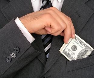 man in suit, one hundred dollar bill, money, cash