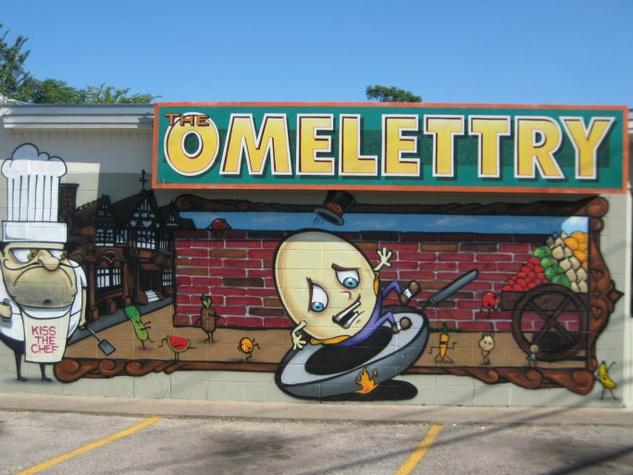 Omelettry on Burnet