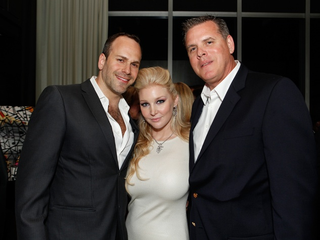 203 Jonathan Luke, from left, Magan Hunt and Patrick Carr at the STAGES Xanadu Gala April 2014