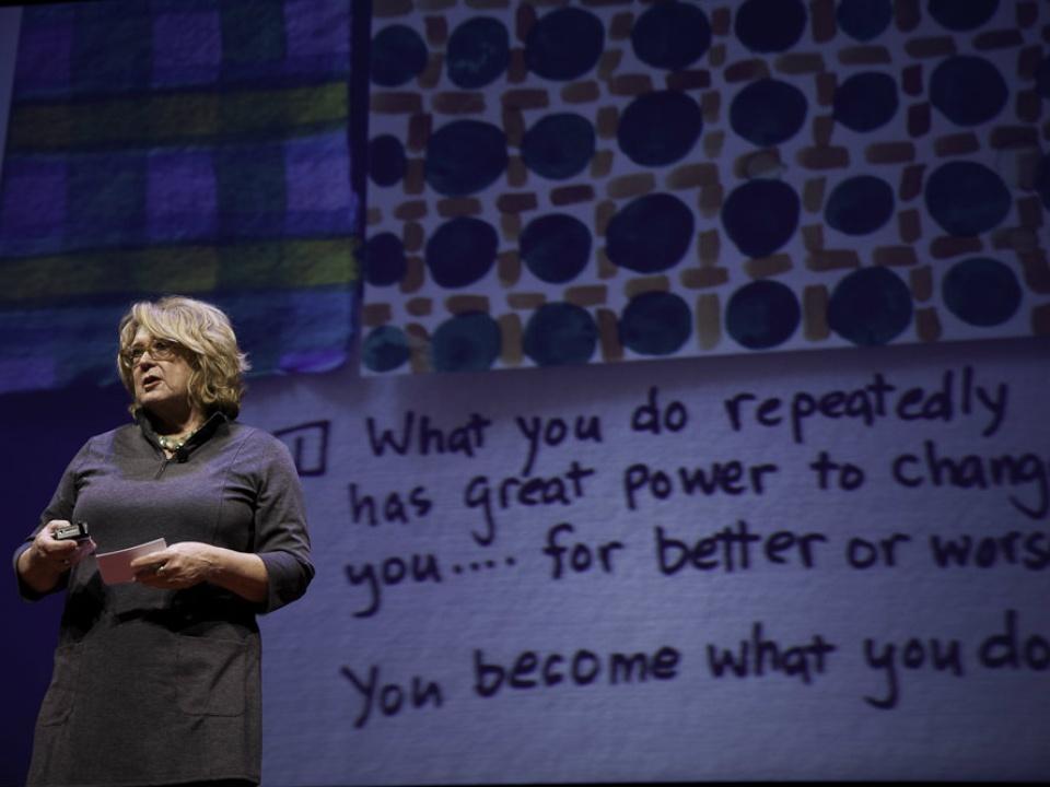TEDxSMU speaker Pamela Nelson