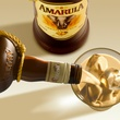 Amarula liquor cream being poured