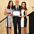 Brenda Martinez, Tacho Mindiola, Eva Longoria  University of Houston November 2013