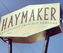 Haymaker Austin exterior signage