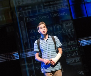 Ben Platt in Dear Evan Hansen on Broadway