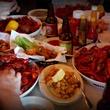 Evangeline Cafe Austin restaurant crawfish boil cajun food