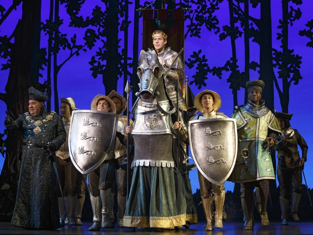 Cinderella at TUTS stage performance