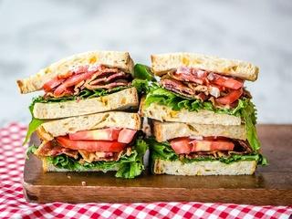BLT sandwich at Empire Baking Company in Dallas