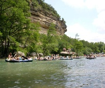 Tubing float Guadalupe River New Braunfels horsehoe Tube Haus