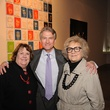 13 7286 Anne Lamkin Kinder, from left, Sanford Criner and Phyllis Childress at the reception for Jamie Bennett November 2014
