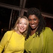 24A- Stephanie Hamilton, left, and Dawn Armstrong at the Clayton Dabney fundraiser March 2014