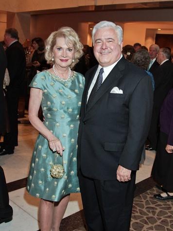 Kathi and Bill Rovere at the Medical Bridges gala October 2013