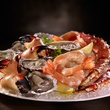 Del Frisco's seafood tower