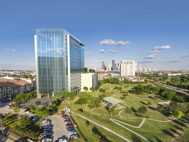 3 Park Place at Buffalo Bayou renderings December 2014