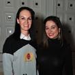 2672 Beth Mueke, left, and Maria Brassa at Rose Thursdays at Crimson November 2014
