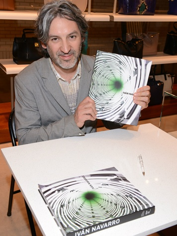 Ivan Navarro book signing