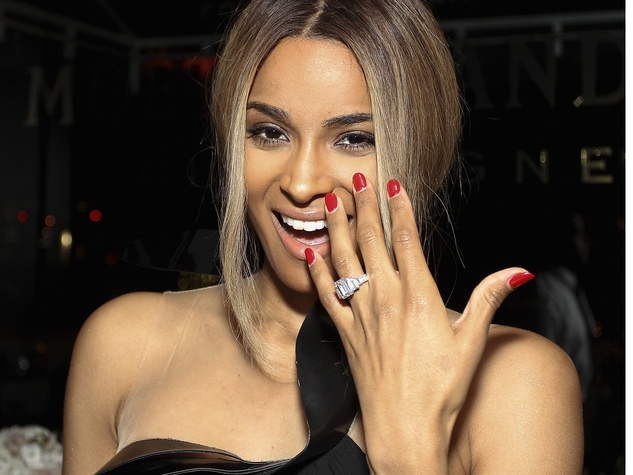 Ciara with engagement ring October 2013