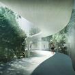 Fairmont Austin hotel Austin Convention Center Canopy Walk rendering