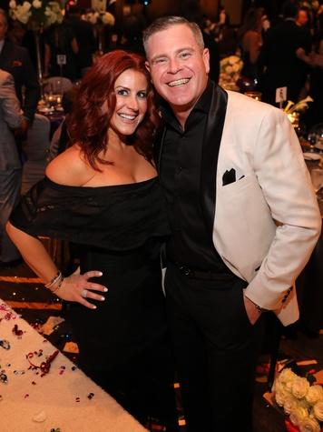 Jennifer and Chad Pinkerton at Festari Gala