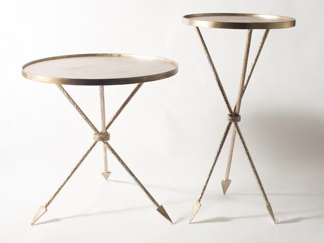 Rachel Horn interior designer Assisi tables